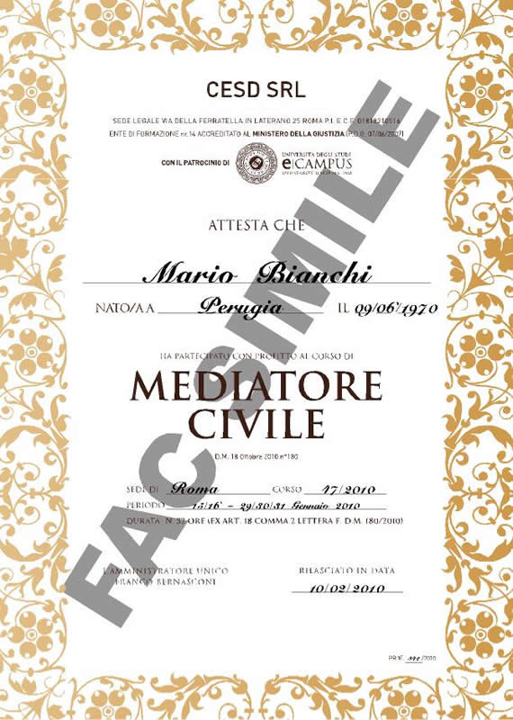 mediatore civile